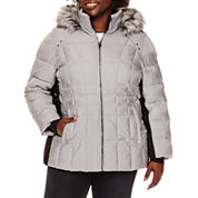 ZeroXposur® Shimmer Puffer Jacket - Plus