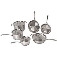 BergHOFF® 10-pc. Professional Copper Clad Cookware Set