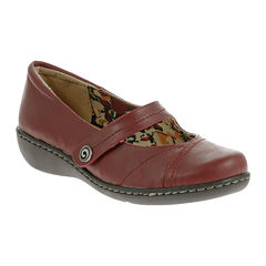 Soft Style® by Hush Puppies Jayne Leather Mary Jane Flats