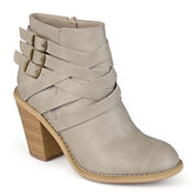 Journee Collection Strap Womens Booties