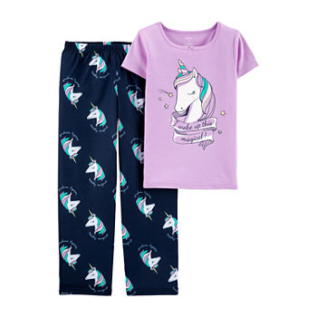 Carter Girls 2 pc Pajama Set Preschool Big Kid