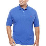 U.S. Polo Assn.® Short-Sleeve Heather Polo - Big & Tall