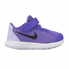 Nike Flex Run 2017 Girls Running Shoes - Toddler