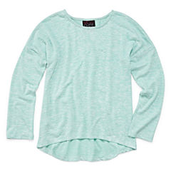 Miss Chievous Long Sleeve Henley Shirt - Big Kid Girls