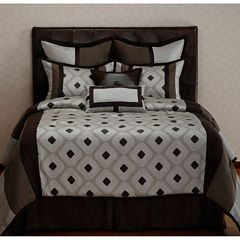 Options:32™ Grayson 8-pc. Reversible Comforter Set