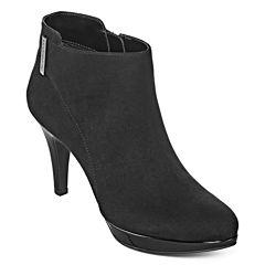 Liz Claiborne® Emma Heeled Ankle Booties