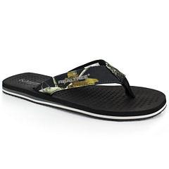 Realtree Bay Mens Flip-Flops