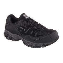 Skechers® Cankton Mens Steel-Toe Work Sneakers