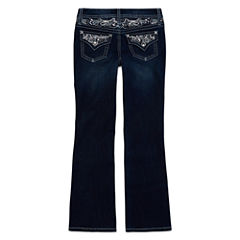 Arizona Embellished-Back-Pocket Jeans - Girls 7-16 and Plus