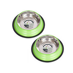 Iconic Pet 2-Pack 3-Cup Color Bowls