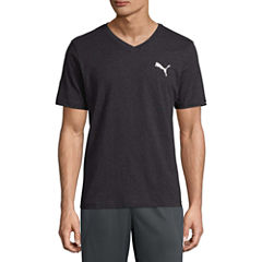 Puma Iconic Vneck Tee Short Sleeve V Neck T-Shirt