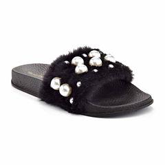 Henry Ferrera Paco Pearl Womens Slide Sandals