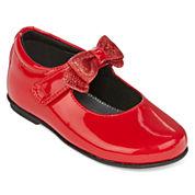 Christie & Jill™ Bonnie Bow Girls Dress Flats - Toddler