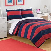 IZOD® Nottingham Stripe Quilt