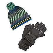 ZeroXposur® Ski Glove and Hat Set - Boys 8-20