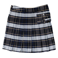 French Toast Plaid Two-Tab Scooter - Big Girl - Plus