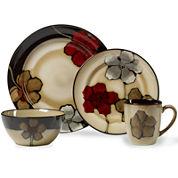 Pfaltzgraff® Painted Poppies 16-pc. Dinnerware Set