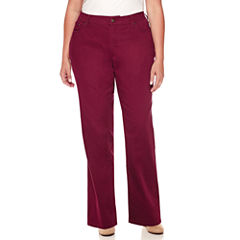 St. John's Bay® Straight-Leg Jeans - Plus