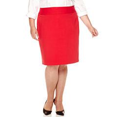Liz Claiborne® Essential Suiting Skirt - Plus