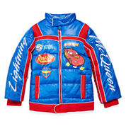 Disney Collection Cars Puffy Jacket - Boys