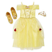 Disney Collection Belle Costume, Tiara or Shoes - Girls