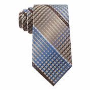 Van Heusen® Multi-Line Plaid Silk Tie