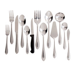 Gibson Wilmington Plus 55-pc. Flatware Set