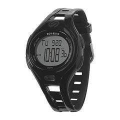 Soleus Dash Womens Black Digital Running Watch
