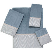 Avanti Interlace Bath Towels