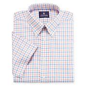 Stafford® Short-Sleeve Oxford Dress Shirt
