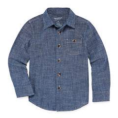 Arizona Long-Sleeve Chambray Shirt - Toddler 2T-5T