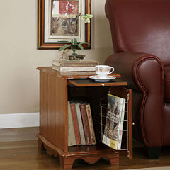 Magazine Storage Cabinet Table