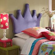 Princess Crown Twin Headboard