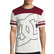 DC Shoes Co.® Short-Sleeve Fade Out Block Knit T-Shirt