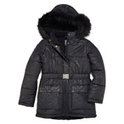 Rothschild Belted Puffer Jacket - Girls 7-16
