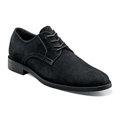 Stacy Adams® Corday Mens Suede Plain-Toe Oxfords