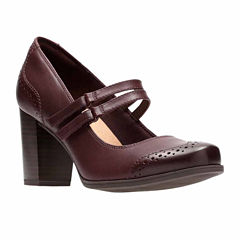 Clarks Claeson Tilly Womens Mary Jane Shoes
