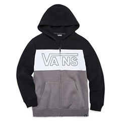Vans Fleece Zip Hoodie-Big Kid Boys