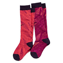 Nike® 2-pk. Graphic Knee-High Socks