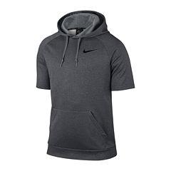 Nike® Therma Short-Sleeve Fleece Hoodie