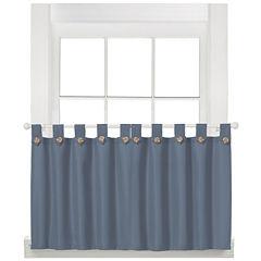 Westlake Rod-Pocket Window Tiers