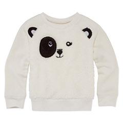 Okie Dokie Long Sleeve Sweatshirt - Toddler Girls