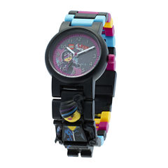 LEGO® Movie Lucy Wyldstyle Kids Watch with Mini Figure