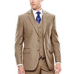 Stafford® Travel Sharkskin Suit Jacket - Slim Fit
