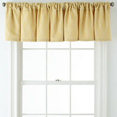 JCPenney Home™ Hamilton Rod-Pocket/Back-Tab Tailored Valance