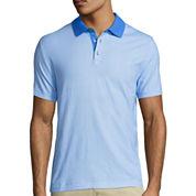Claiborne® Short-Sleeve Stretch Polo