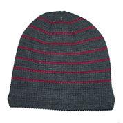 JF J. Ferrar® Sherpa-Lined Striped Beanie