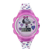 Peanuts Snoopy Kids Flashing Digital Watch