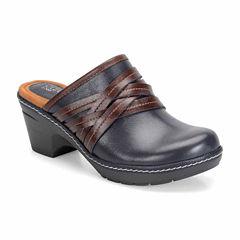Eurosoft Binda Leather  Womens Clogs