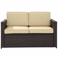 Palm Harbor Wicker Patio Sofa